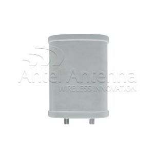 Sector Antenna 250x160x80 front 2 conn
