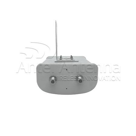 Sector Antenna 250x160x80 bottom 2 conn