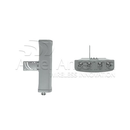 Sector Antenna 320x280x80mm 4 conn