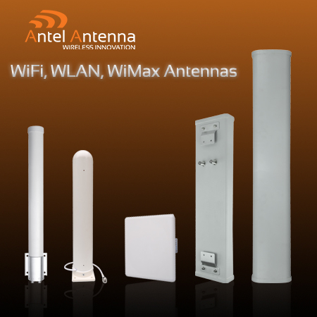 WiFi, WLAN, WiMax Antennas