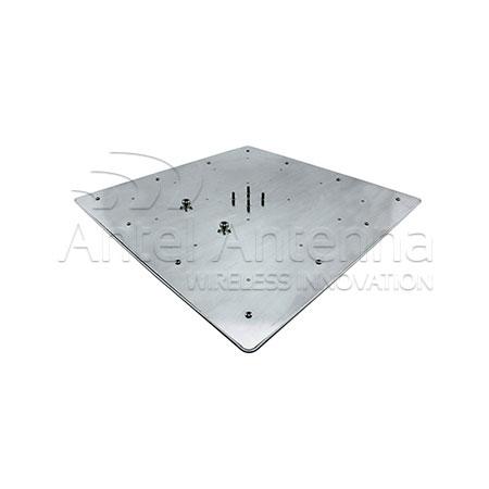 Flat Panel 450x450x40 top 2 conn