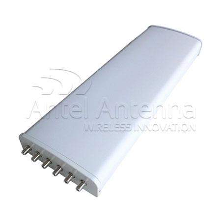 Sector Antenna 710x280x80 6 conn
