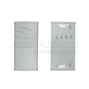 Sector Antenna 580x280x80mm 4 conn